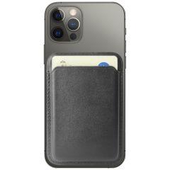 Accezz Leather Wallet Cardholder mit MagSafe - Schwarz