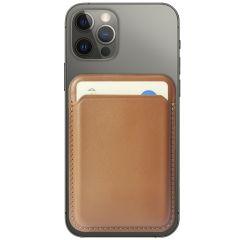 Accezz Leather Wallet Cardholder mit MagSafe - Braun