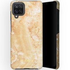 Selencia Maya Fashion Backcover Samsung Galaxy A12 - Marble Sand