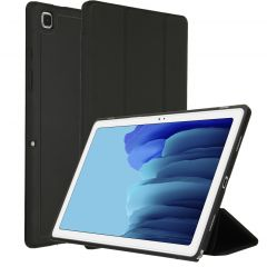 Accezz Smart Silicone Bookcase Schwarz Samsung Galaxy Tab A7