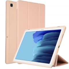 Accezz Smart Silicone Bookcase Samsung Galaxy Tab A7 - Roségold