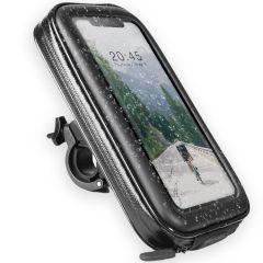 Accezz Universal-Handyhalterung fürs Fahrrad - Schwarz