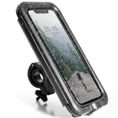Accezz Universal-Handyhalterung fürs Fahrrad Pro - Schwarz