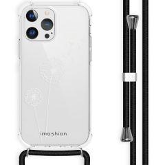 iMoshion Design Hülle mit Band iPhone 13 Pro - Pusteblume - Weiß