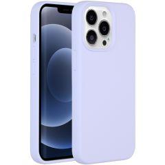 Accezz Liquid Silikoncase iPhone 13 Pro - Lila