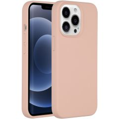 Accezz Liquid Silikoncase iPhone 13 Pro - Rosa