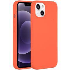 Accezz Liquid Silikoncase iPhone 13 - Nectarine