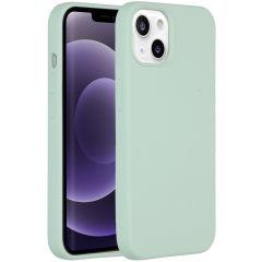 Accezz Liquid Silikoncase iPhone 13 - Sky Blue