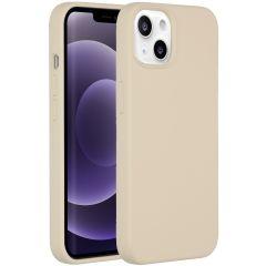Accezz Liquid Silikoncase iPhone 13 - Stone