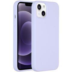 Accezz Liquid Silikoncase iPhone 13 - Lila