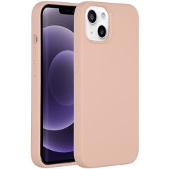Accezz Liquid Silikoncase iPhone 13 - Rosa