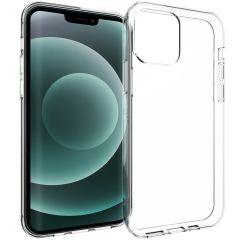 Accezz TPU Clear Cover für das iPhone 13 Pro - Transparent