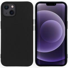 iMoshion Color TPU Hülle für das iPhone 13 - Schwarz