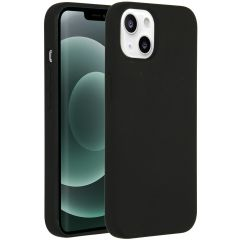 Accezz Liquid Silikoncase mit MagSafe iPhone 13 Mini - Schwarz
