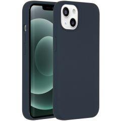 Accezz Liquid Silikoncase mit MagSafe iPhone 13 Mini - Dunkelblau