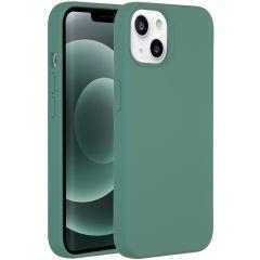 Accezz Liquid Silikoncase mit MagSafe iPhone 13 Mini - Grün