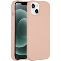 Accezz Liquid Silikoncase mit MagSafe iPhone 13 Mini - Rosa
