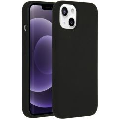 Accezz Liquid Silikoncase mit MagSafe iPhone 13 - Schwarz