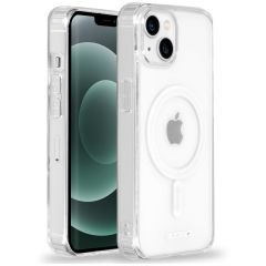 Accezz Clear Backcover mit MagSafe iPhone 13 Mini - Transparent