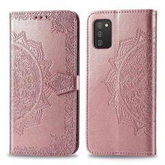 iMoshion Mandala Booktype-Hülle Samsung Galaxy A03s - Rotgold