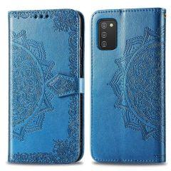 iMoshion Mandala Booktype-Hülle Samsung Galaxy A03s - Türkis
