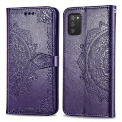 iMoshion Mandala Booktype-Hülle Samsung Galaxy A03s - Lila