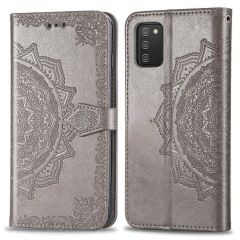 iMoshion Mandala Booktype-Hülle Samsung Galaxy A03s - Grau