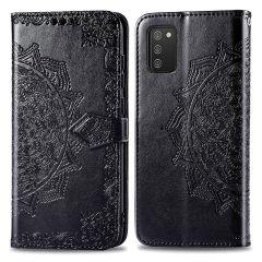 iMoshion Mandala Booktype-Hülle Samsung Galaxy A03s - Schwarz