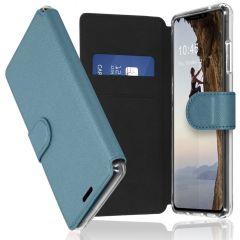 Accezz Xtreme Wallet für das iPhone 13 - Hellblau