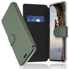 Accezz Xtreme Wallet für das iPhone 13 - Hellgrün