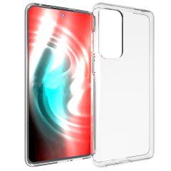 Accezz TPU Clear Cover für das Motorola Edge 20 - Transparent