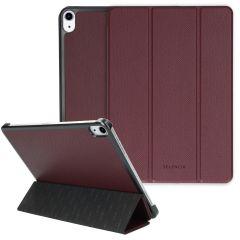 Selencia Kesia Trifold Book Case aus Schlangenleder iPad Air (2020)