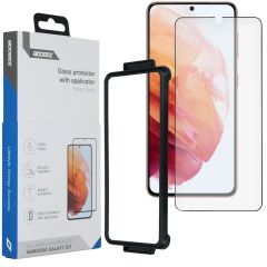 Accezz Glass Screenprotector + Applicator Samsung Galaxy S21