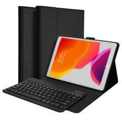 Accezz QWERTZ Bluetooth Keyboard Klapphülle iPad 10.2 (2019 / 2020 / 2021)