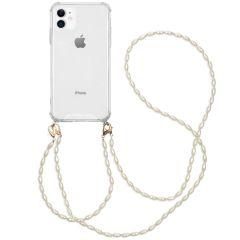 iMoshion Handykette mit Perlen + Handgelenkschlaufe iPhone 11
