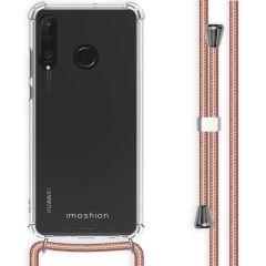 iMoshion Backcover mit Band für das Huawei P30 Lite - Roségold