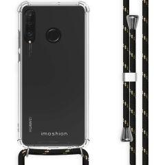 iMoshion Backcover mit Band für das Huawei P30 Lite - Schwarz Gold