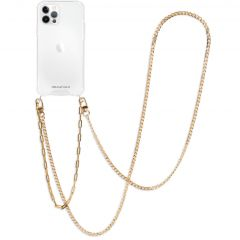 iMoshion Back Cover Band + Handgelenkschlaufe + Kette iPhone 12(Pro)
