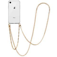 iMoshion Back Cover mit Band + Handgelenkschlaufe + Kette iPhone Xr
