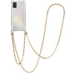 iMoshion Back Cover mit Band + Handgelenkschlaufe + Kette Galaxy A51