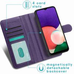 iMoshion Luxuriöse Portemonnaie-Hülle Galaxy A22 (5G) - Violett