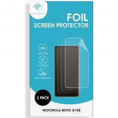 iMoshion Displayschutz Folie 3er-Pack Motorola Moto G100