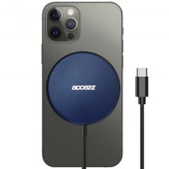 Accezz USB-C to MagSafe Wireless Charger - 15W - Blau