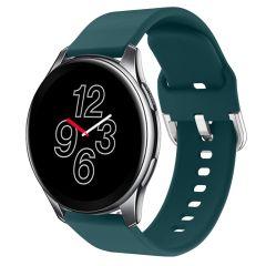 iMoshion Silikonband für die OnePlus Watch - Dunkelgrün