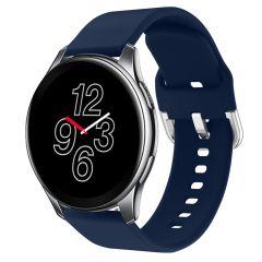 iMoshion Silikonband für die OnePlus Watch - Dunkelblau