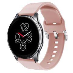 iMoshion Silikonband für die OnePlus Watch - Rosa