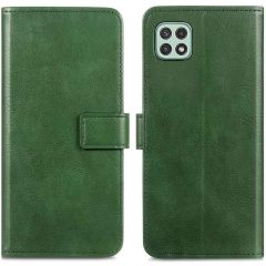 iMoshion Luxuriöse Buchtyp-Hülle Samsung Galaxy A22 (5G) - Grün