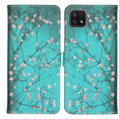 iMoshion Design TPU Booktype Hülle Galaxy A22 (5G) - Blossom