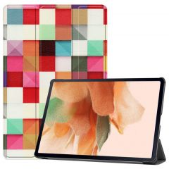 iMoshion Design Trifold Bookcase Galaxy Tab S7 Plus / Tab S7 FE 5G - Various Colors
