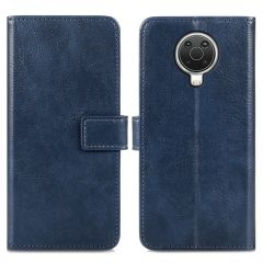iMoshion Luxuriöse Buchtyp-Hülle Nokia G10 / G20 - Dunkelblau